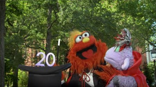 Magic Murray and Ovejita, The number of the Day 20, Sesame Street Episode 4416 Baby Bear's New Sitter season 44