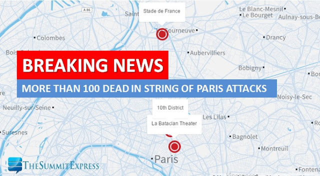 153 dead in Paris attacks on Friday the 13th
