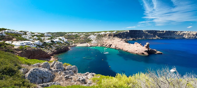 Cala Morell em Menorca