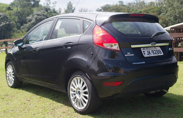 car on New fiesta 2014