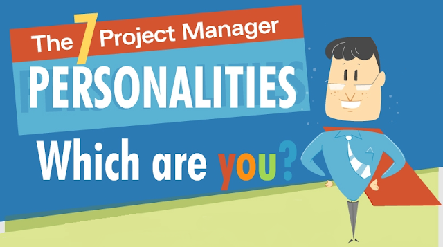 Which Type Of Project Manager Are you #Infographic