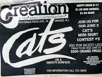 Creation band lineup June 1983