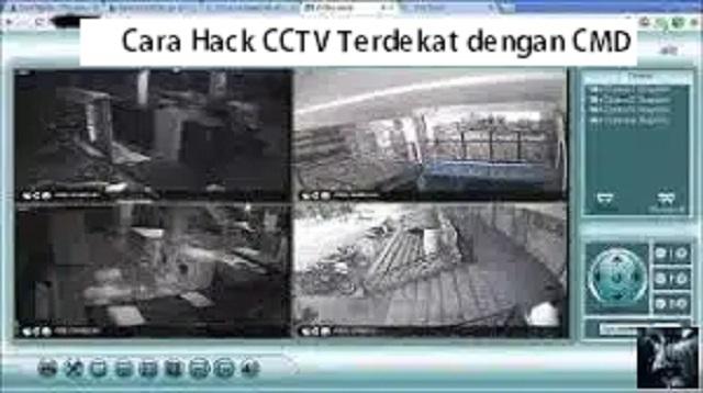 Cara Hack CCTV Terdekat dengan CMD