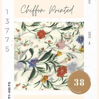 Chiffon Printed korea