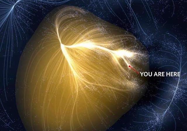 Земля - околиці галактики