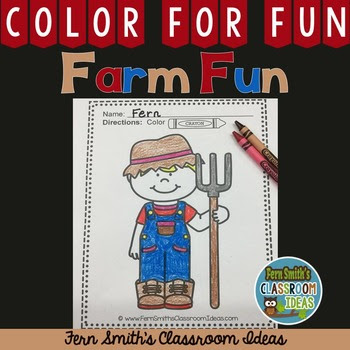 Click here to get this Freebie Friday  FREE Color For Fun Farm Boy!