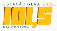 Rádio Estação Gerais FM 101,5 de Bocaiuva - Minas Gerais