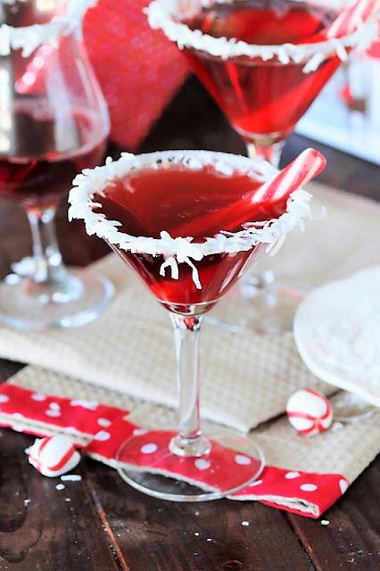 Santa's Hat Christmas Cocktail image