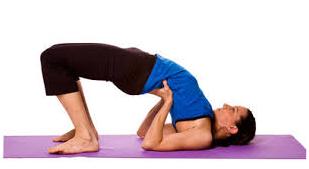 Setu Bandha Yoga Asan se Motapa kam kare