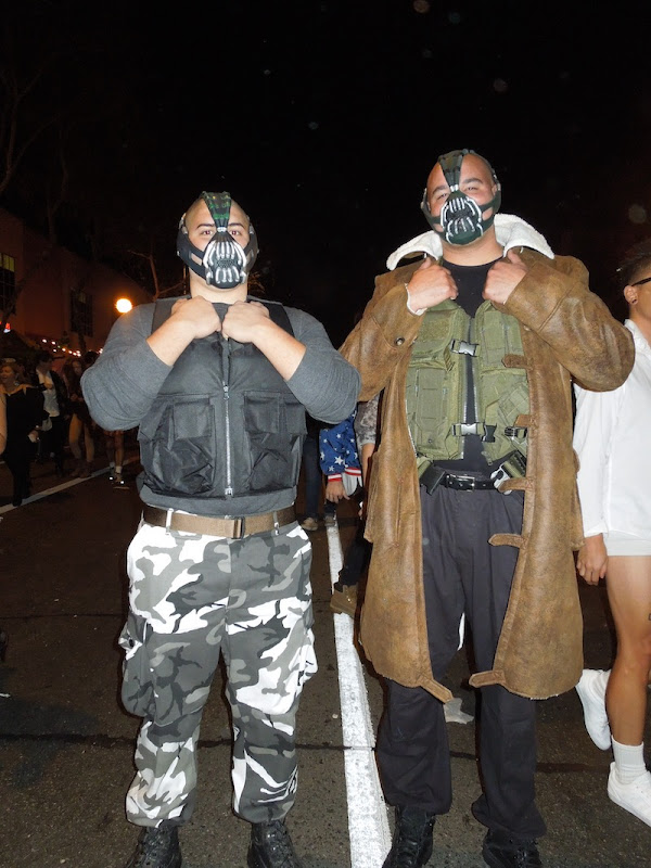 Bane costumes West Hollywood Halloween
