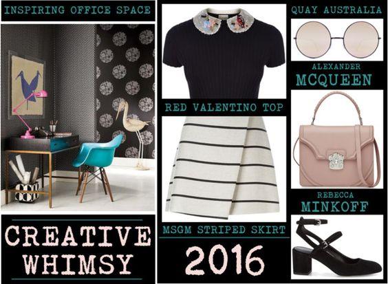Office Style - Creative Whimsy www.toyastales.blogspot.com #ToyasTales