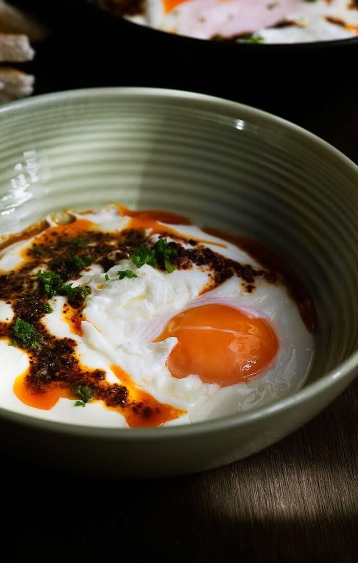 Turkish Eggs (Çılbır)