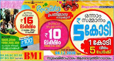 Keralalottery,Live Kerala Lottery Results Today 06-12-2020,Kerala Lottery Result Bhagyamithra,Bhagyamithra Monthly Lottery Online,Kerala Lottery Today