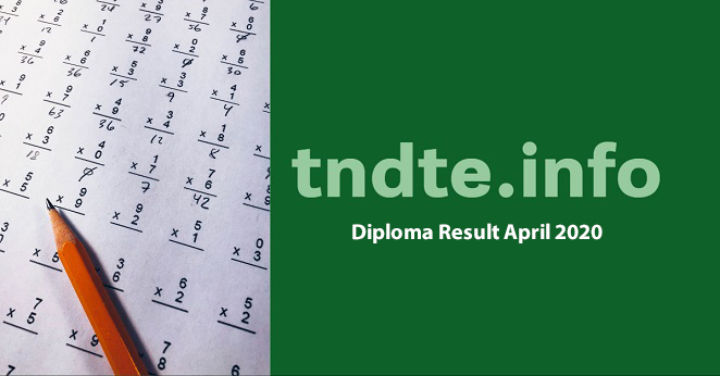 TNDTE Diploma Result April 2020 - 112.133.214.75/result_Apr2020