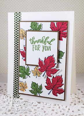 Card by Lesley Croghan using Verve Stamps