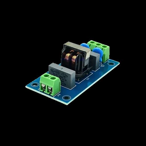 Mạch Lọc Nhiễu Điện Từ Nguồn 220VAC 3A EMI Filter Module