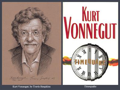 Kurt Vonnegut. Timequake. Kurt Vonnegut Museum & Library. by Travis Simpkins
