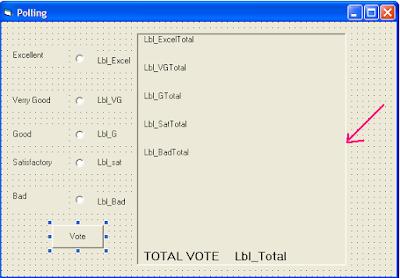 Source Code Program Aplikasi Sistem Polling Menggunakan VB6