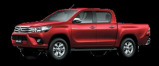 giá xe Hilux Toyota Hùng Vương