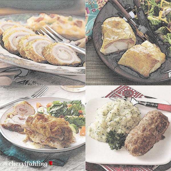 Chicken Cordon Bleu Rolls, Easy Chicken Cordon Bleu, Golden Chicken Cordon Bleu, Homemade Chicken Cordon Bleu
