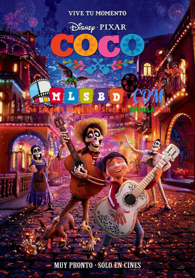 Coco (2017) English BluRay HEVC-150 MB | 480p-300 MB & 720p-850 MB