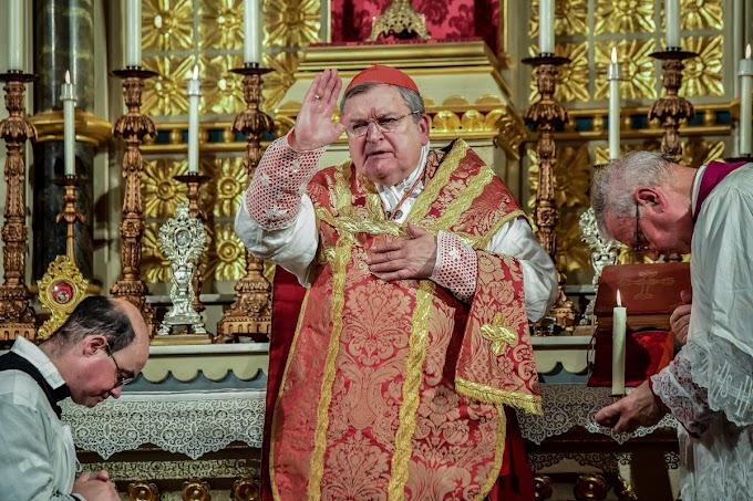 Declaração do Cardeal Burke sobre o Motu Proprio Traditionis Custodes