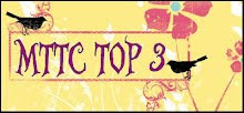 "Top 3-  ""I Dream of You in Colors"" July 2012"