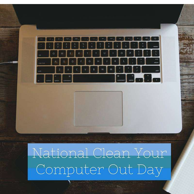 National Clean Out Your Computer Day Wishes Images
