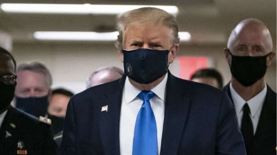 Trump has said he will issue a national mask order