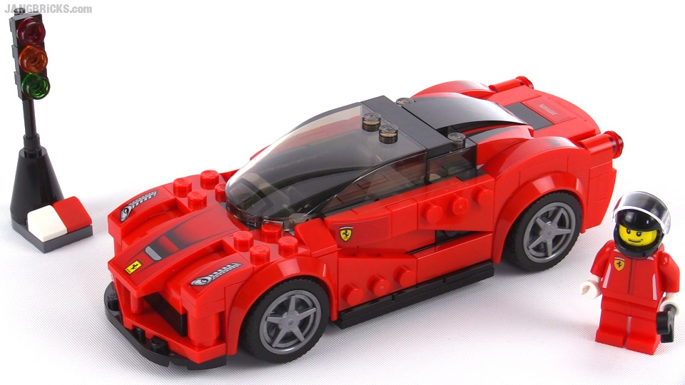 lego speed champions laferrari review set 75899. Black Bedroom Furniture Sets. Home Design Ideas