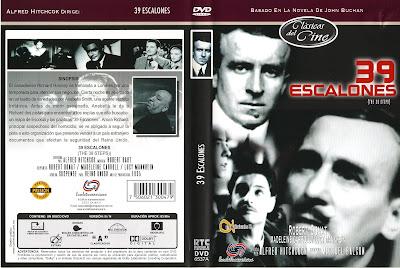 Carátula dvd 1: 39 escalones (1935) The 39 Steps