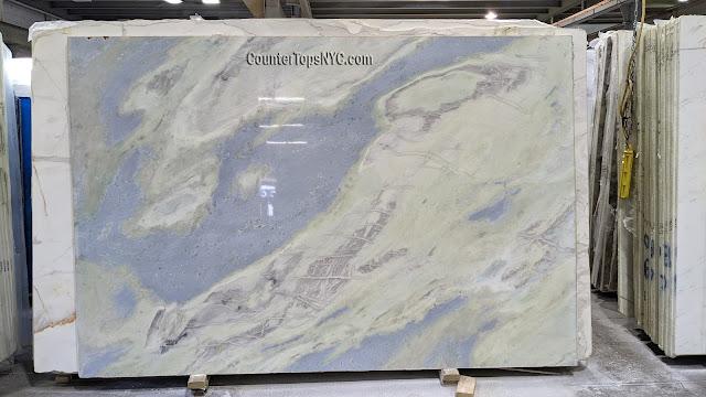 Lumen Quartzite Slab for countertops NYC