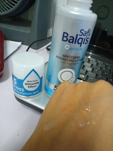 Safi Balqis Oxywhite Whitening Hydrating Lotion Menyegarkan,Mencerah Dan Melembabkan Kulit Secara Semulajadi