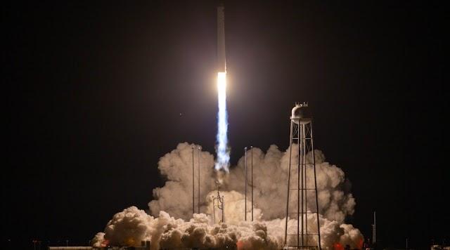 SS Kalpana Chawla Cygnus spacecraft by NASA launches to International Space station
