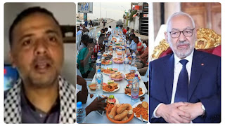 حركة النهضة.. راشد الغنوشي و قلب تونس و إئتلاف الكرامة تبرعو لفائدة موائد الإفطار بقيمة 150 مليون