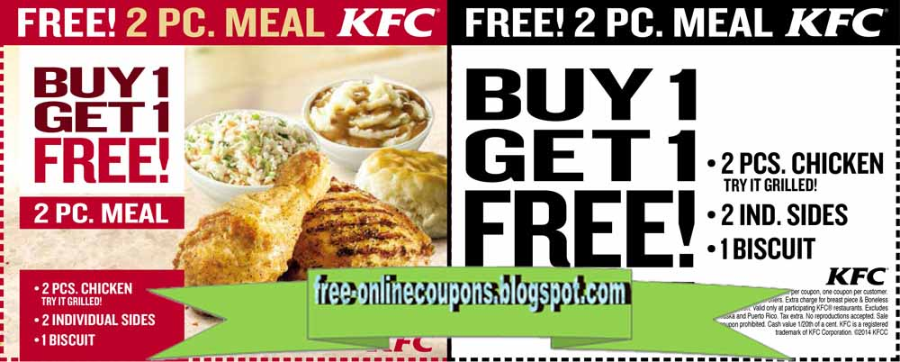 KFC Coupon Codes, Printable coupons, and Promo Codes