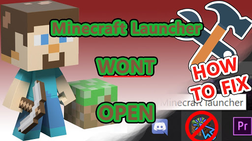Minecraft launcher won't open? Try this