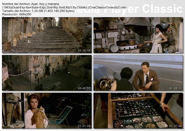 Imagenes dela película, Ayer, hoy y mañana   1964   Ieri, oggi e domani