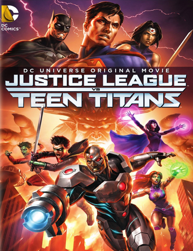 Ver Justice League vs. Teen Titans (2016) Online