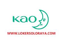 Lowongan Kerja Team Leader Gaji diatas UMR Solo di PT KAO Indonesia
