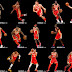 Atlanta Hawks Updated Full Body Portraits V2.25 by raul77