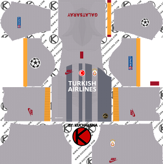 Galatasaray S.K. 2019/2020 champions league Kit - Dream League Soccer Kits