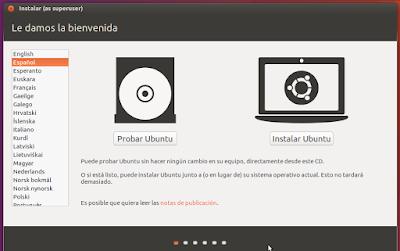 Probar Ubuntu