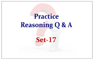 Practice Reasoning Questions Set-17