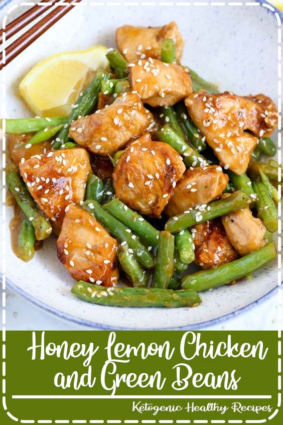 This Honey Lemon Chicken and Green Beans is a light and fresh meal with a ton of flavor Honey Lemon Chicken and Green Beans
