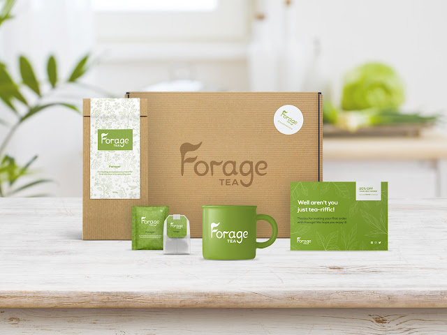 brand brand identity branding clean colours design graphic design logo mockup packaging photoshop product design tea typography