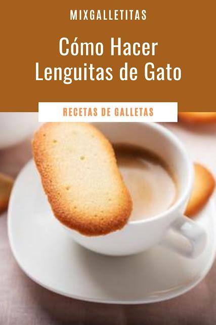CÓMO HACER GALLETAS ¡LENGUITAS DE GATO!