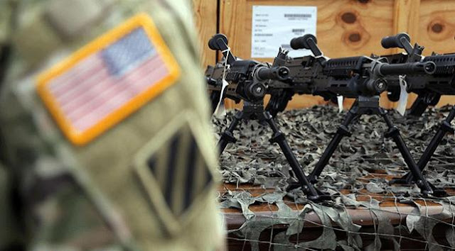 YPG/PKK ABD'nin verdiği silahları karaborsada satıyor.