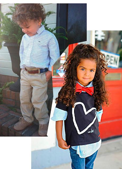 tendência moda infantil