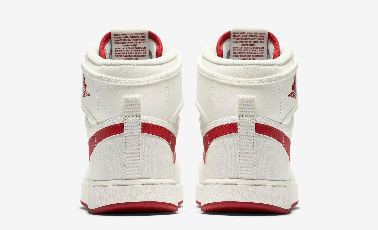 e265872e0544e7 ajordanxi Your  1 Source For Sneaker Release Dates  Air Jordan 1 Retro KO  High OG Sail Varsity Red Release Reminder